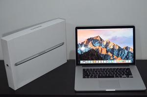 Macbook Pro 15 Retina, En Caja