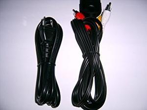 Xbox Cables Av Cable De Alimentación De Ca