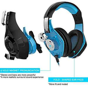 Auricular Para Juegos De Ps4 Psp Xbox Onu Iphone Ipad Tablet