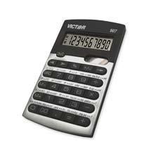Calculadora Estándar Victor Technology 907 Color Gris