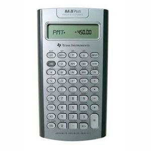 Calculadora Texas Instruments - Ti Ba Ii Plus Pro Gris