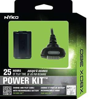 Cargador Nyko Power Kit Para Xbox 360