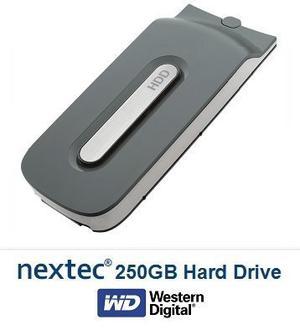 Disco Duro Nextec 250gb Hdd Para Xbox 360
