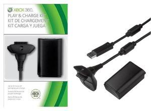 Kit Carga Y Juega Para Xbox  Ni-mh
