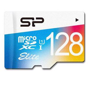 Memoria Micro Sd De 128gb Clase 10 Silicon Power 75mb/s