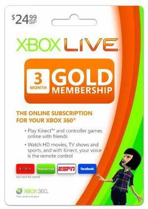 Xbox Live 3 Meses Gold Membresía - Código Digital