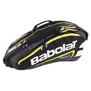 Bolso Babolat Para Raquetas Negro Y Amarillo