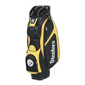 Bolso Wilson Golf Color Negro Y Oro