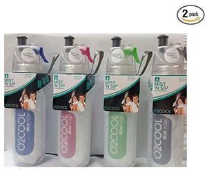 Botella De Agua O2cool 2 Unidades