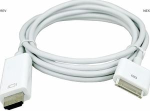 Cable Convertidor Iphone 4 Y Ipad A Hdmi 1.8 Mtrs