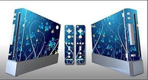 Calcomania Wii Skin By Q Leaf Para Wii U Hierba De La Noche
