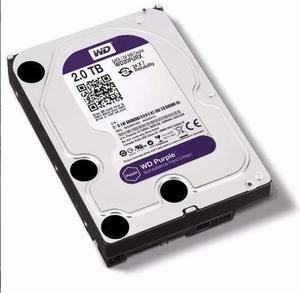Disco Duro 2 Tb Wester Digital Purple Surveillance Pc Sata
