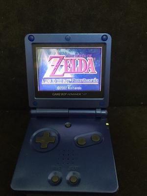 Game Boy Advance Sp Con Zelda A Link To The Past Four Swords