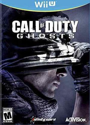 Juego De Call Of Duty:fantasmas - Para Nintendo Wii U