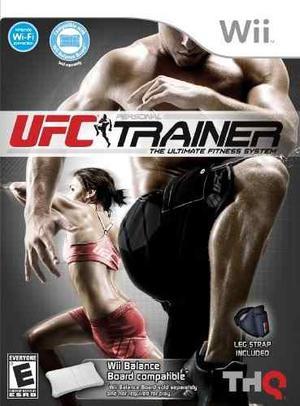 Juego Ufc Personal Trainer - Para Nintendo Wii