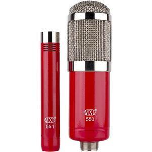 Micrófono Mxl Grabación Conjunto, Rojo, 2pk