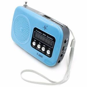 Parlante Altavoz Recargable Radio Fm Clasico Micro Sd Usb