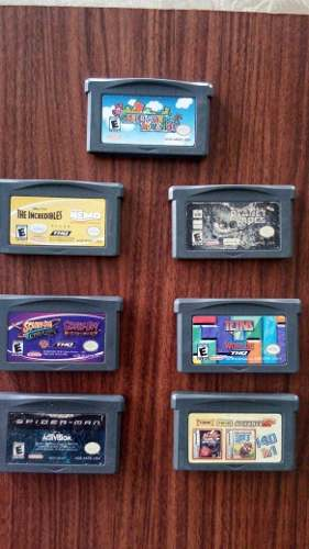 Promoción 7 Juegos De Game Boy Advance!!