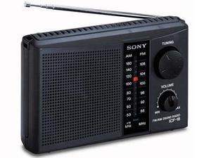 Radio Sony Icf-18 Personal Portátil 2 Bandas Am/fm