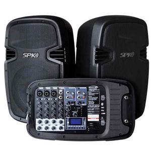 Sistema De Sonido Profesional Kalley K-spk400c Woofer+2 Parl