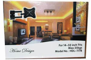 Soporte Tv 14 A 32 Con Brazo Mod.hdl-117b-2 Max 35 K