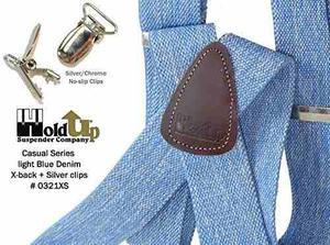 Tirantes Hold-ups Light Blue