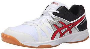 Zapatos De Tenis Asics Gel-upcourt Hombre Negro/rojo 11