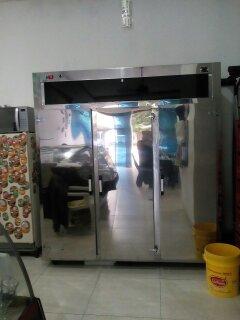 refrigerador congelador vertical de 3 puertas trifasico.
