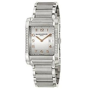 Baume Y Reloj De Cuarzo Moa Mercier Hampton De Las Mujeres