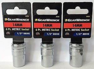 Gearwrench mm 1/2 Unidad Métrica Toma De 6 Pt. 3pc