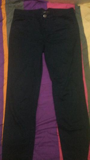 Pantalon de Dril Azul Oscuro