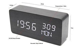 Reloj, Casewarehouse, Digital, Led, Despertador De Mesa