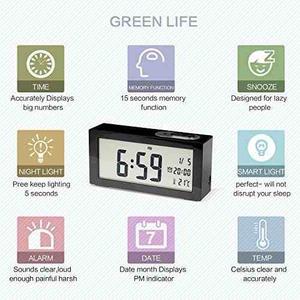 Reloj, Sun Yin, Digital, Led, Despertador De Mesa