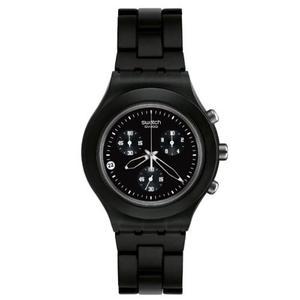 Reloj Swatch Full-blooded Smokey Black Mens Watch Svcfag