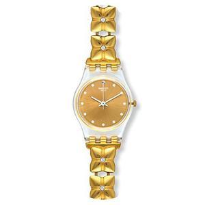 Reloj Swatch Women's Lady Lk358g Gold Stainless-steel Swiss