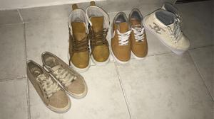 Vendo 4 Pares De Zapatos, Usados Y En Buen Estado