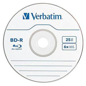 Caja De Discos Verbatim Bd R 25gb