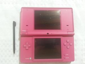 Consola Nintendo Dsi Color Rosa Con Cargador