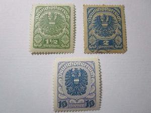 Deutsches Reich Lote 3 Estampillas Estampilla Sello R19