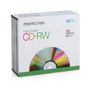 Discos Memorex De 700mb Y 80 Minutos
