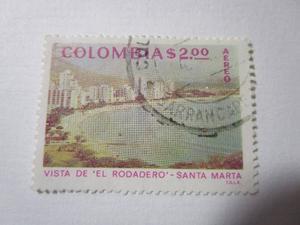 El Rodadero Santa Marta Colombia Estampilla L13
