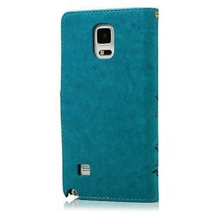 Funda Azul Para Samsung Galaxy Note 4