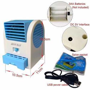 Ventilador Aire Acondicionado Usb Hy-166 Hogar