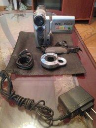 Camara filmadora Sony de 12 mega pixeles