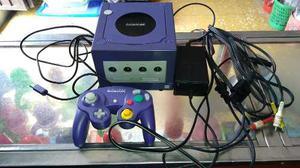 Gamecube Primera Edición,con Un Control Original Y Cables