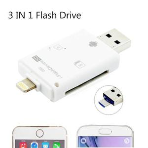 Hd Iflash Drive Usb Micro Sd/tf Sdhc Tarjeta Lector Adaptad