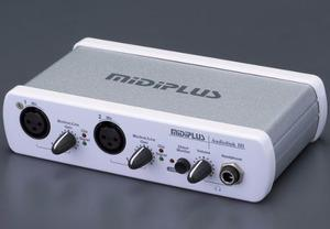 Interface Audio Midiplus Audiolink 3 Phantom Tarjeta Usb