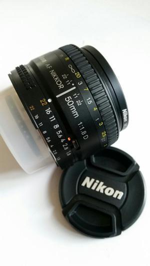 Lente Nikon 50mm 1.8 Manual