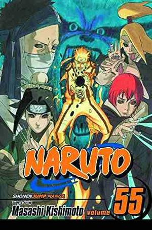 Libro Manga Naruto, Vol. 55: The Great War Begins