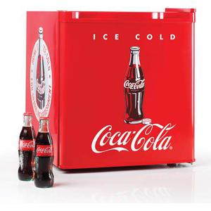 Nevera Con Congelador Nostalgia Coca-cola 1.7 Pies Cúbicos